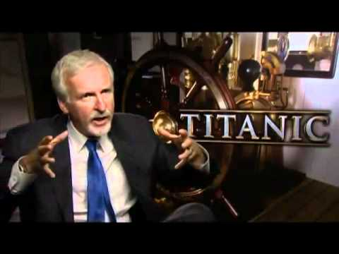 FORO TITANIC: Kate Winslet and James Cameron Interview for TITANIC 3D  Premiere (London)