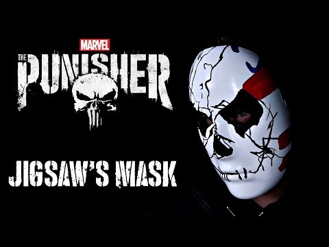 Punisher Season 2 Jigsaw Mask Cosplay Build | 3D Printed | How To