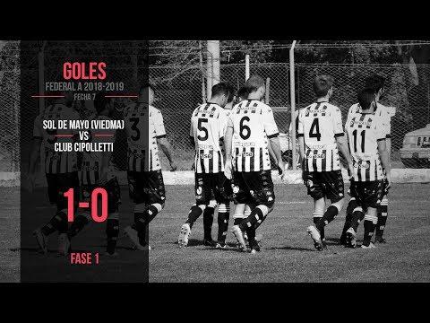 Federal A 2018-2019: Sol de Mayo 1 - 0 Cipolletti (Gol)