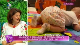 Teo Show (26.06.2018) - Gina Matache, mama Deliei , isi serbeaza nepoata! Partea 3