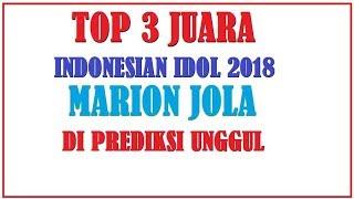 Selain Marion jola, Ghea dan Jodie Dijagokan Masuk 3 Besar Indonesian Idol - spekta 1