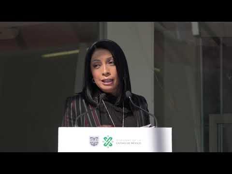 La Directora General del DIF capitalino, Esthela Damián Peralta.