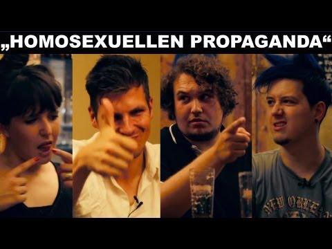 """""""Homosexuellen Propaganda""""-Gesetz in Russland - CRIME STAMMTISCH"""