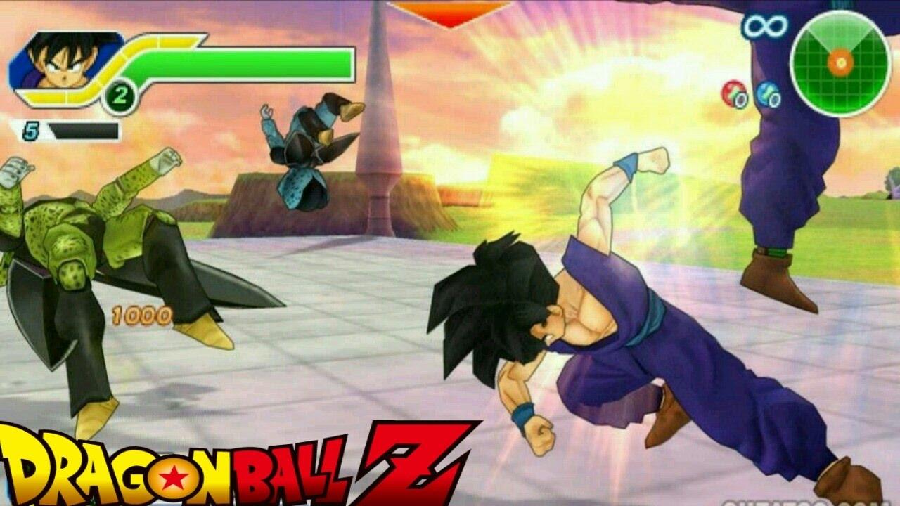 dragon ball z evolution psp game download