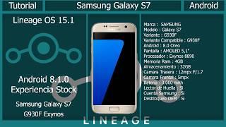 ANDROID 8 1 0 OREO Para Galaxy S7/S7 Edge | LineageOS 15 1
