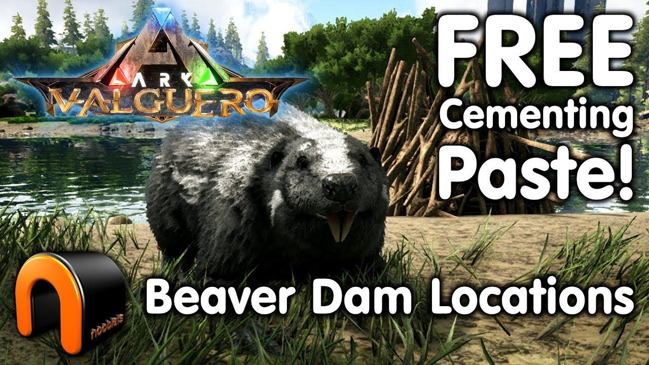 ARK: Survival Evolved - Beaver Dam Experiment - Series Z ...   Ark Beaver Dam
