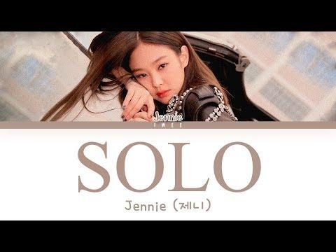 Jennie of BLACKPINK (제니 of 블랙핑크) - SOLO (Han Rom Eng) Color Coded Lyrics/한국어 가사