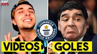 5 RECORDS GUINESS de FAMOSOS Que Nadie Podrá Superar   Dalas, Maradona