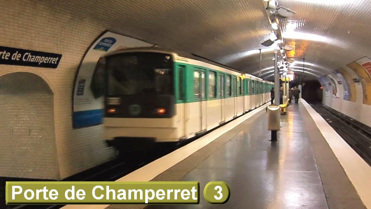 Porte de champerret ligne 3 m tro de paris ratp mf67 - Salon porte champerret ...