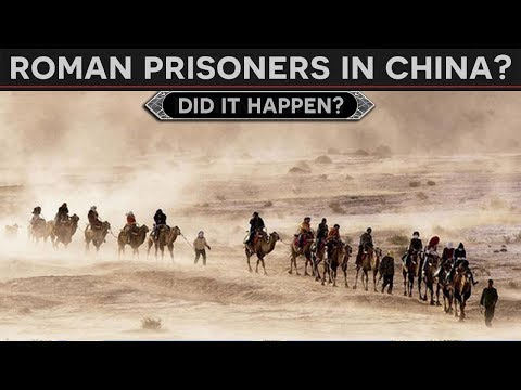 Roman POWs in China? - The Fate of Crassus's Lost Legions