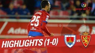 Resumen de CD Numancia vs Real Zaragoza (1-0)
