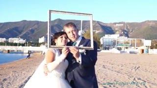 мгновенное фото на свадьбе