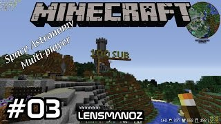 Minecraft - Space Astronomy MP - Ep 3 - Automating the farm