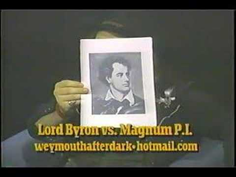"Weymouth After Dark episode 3-part 3  ""Lord Byron vs Magnum"""