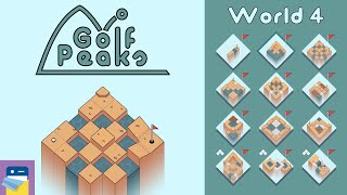 Golf Peaks: World 4 Walkthrough Guide & iOS / Android / PC Gameplay (by Lukasz Spierewka)