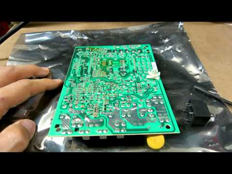Repairing HVAC Furnace Control Board Relay - How to fix air condition faulty circuit