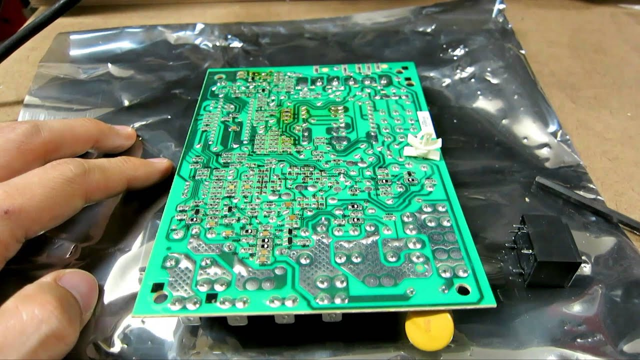 Repairing HVAC Furnace Control Board Relay