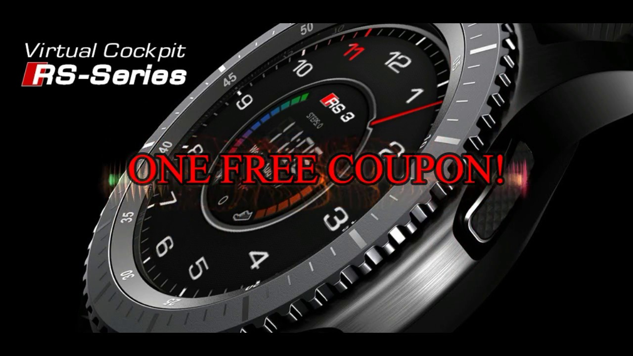 Samsung Gear S3 Audi Inspired Watchfaces By Peter Blay Free Coupon Giveaway Jibber Jab Reviews Youtube