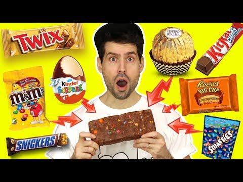 BARRE CHOCOLAT XXL - JE MELANGE 25 SORTES DE CHOCOLAT - HUBY
