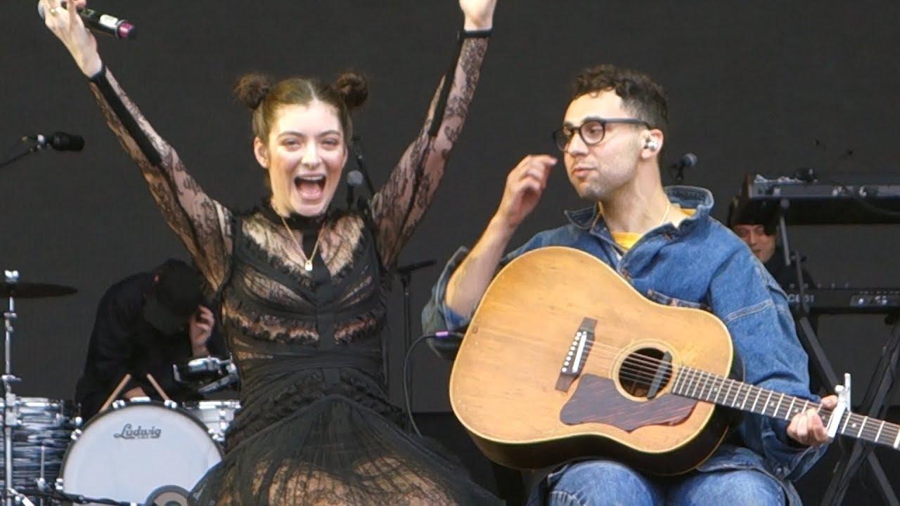 Resultado de imagen de Lorde & Jack Antonoff me and julio