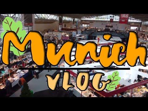 Vlog Munich | La Bourse aux minéraux 💎