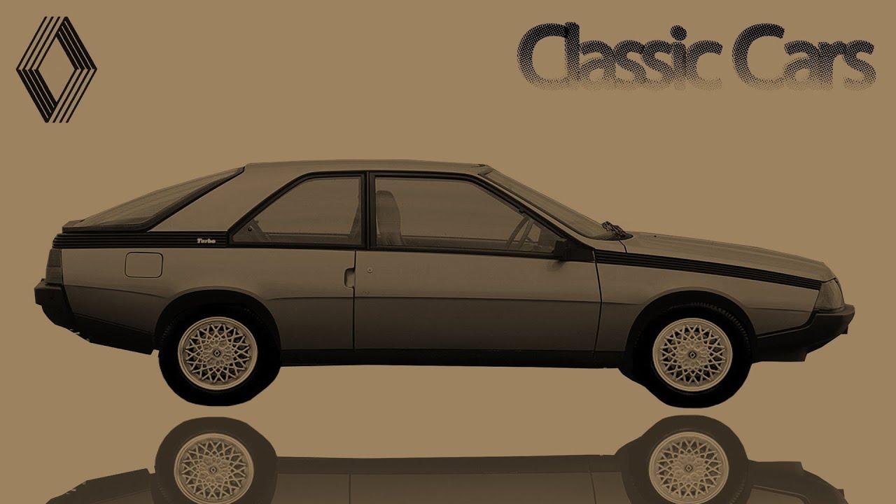 1983 renault fuego turbo 1365 classic sport hatchback youtube. Black Bedroom Furniture Sets. Home Design Ideas