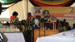 Crowd Favorites ... Lorinda Mphoko And Emmerson Mnangagwa ...