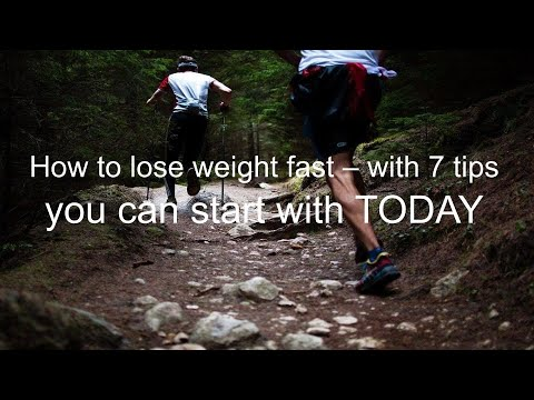 how to lose weight fast with 7 tips you can start now