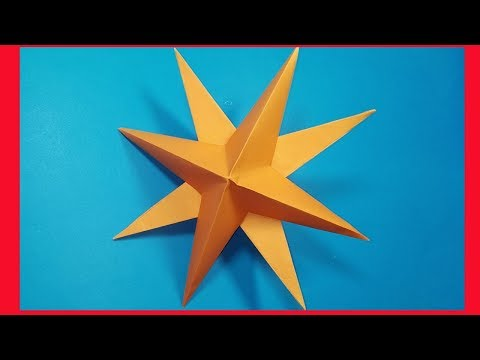 How to make easy paper star | DIY Origami
