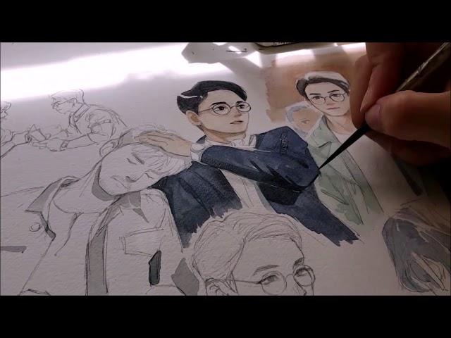 [ZhenHun] Watercolor Speedpaint