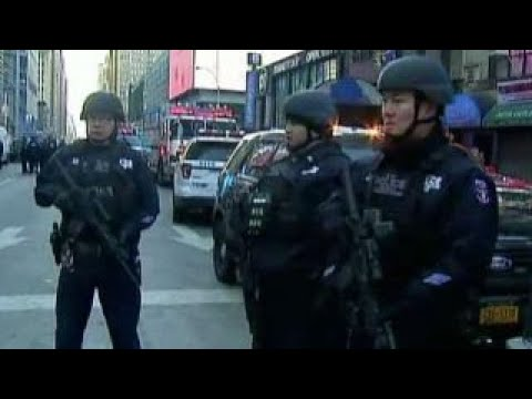 What was New York City bomb suspect