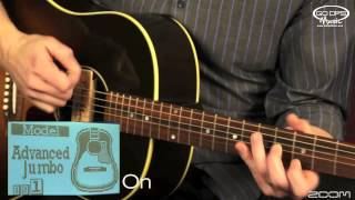 Zoom A3 Acoustic Electric Guitar Effects Pedal Product Video