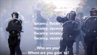 VACANCY 45 Yr Old New Release NEIL YOUNG LYRICS Mashed Up GEORGE FLOYD BLM POLICE BRUTALITY BURNING
