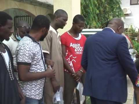 National Drugs Law Enforcement Agency (NDLEA)  Parades Suspects