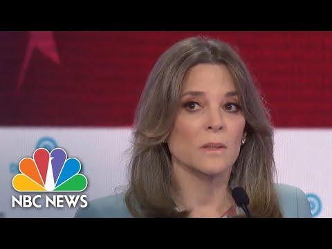 Marianne Williamson: I Will 'Harness Love' To Defeat President Donald Trump   NBC News