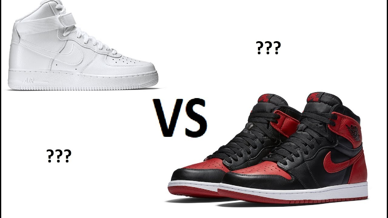 NIKE AIR JORDAN 1 OR AIR FORCE 1? (READ DESCRIPTION)