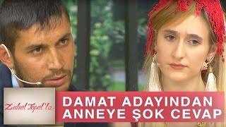 Zuhal Topal'la 178. Bölüm (HD) | Huriye'nin Talibi Kazım'dan, Anne Şerife Hanım'a Şaşırtan Cevap!