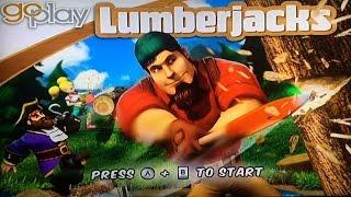 Go Play Lumberjacks Wii Gameplay
