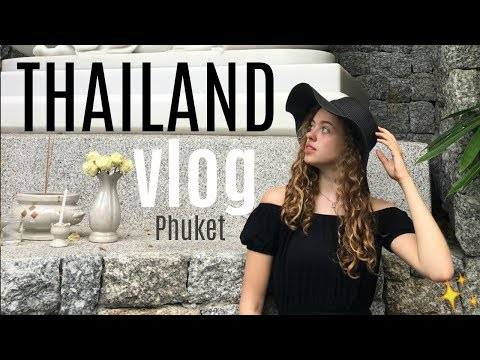 THAILAND VLOG: Big Buddha Temple, Night Market & Vegan Food in Phuket 💫 // UnJaded Jade