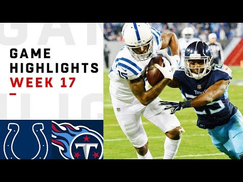 Colts vs. Titans Week 17 Highlights | NFL 2018