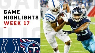 Colts vs. Titans Week 17 Highlights