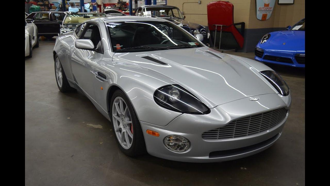 2004 Aston Martin Vanquish Am Works 6 Speed Autosport Designs Youtube