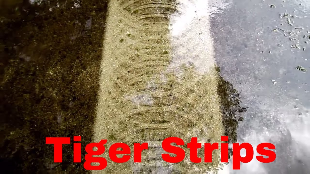 Pressure Washing Surface Cleaner stripes how and why