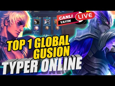 Download TOP 1 GLOBAL GUSION  / RANKED and Typer picked Gusion?   MLBB