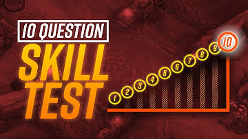 Are YOU Better Than a WORLD CHAMPION? 10 Questions to TEST your SKILL!