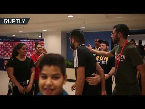 تدريبات المنتخب الجزائري قبيل مباراته الأولى في كأس أمم إفريقيا 2019  - 13:54-2019 / 6 / 23