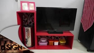 Dsign - Make Ove Red Modern Ethnic Living Room Kitchen - Part 2