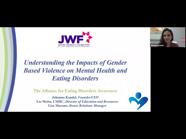 Impact Tuesdays Webinar Ep. 3 with The Alliance for Eating Disorders Awareness