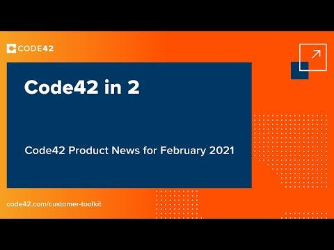 February 2021: Code42 in 2