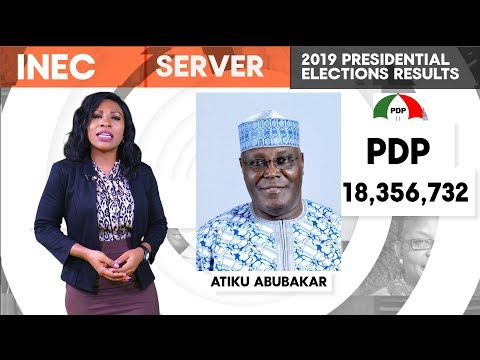 Atiku Won The Elections – INEC servers show Real election Results